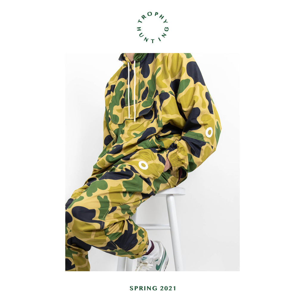 Duck Camo Winbreaker Pant and Jacket - Now Available