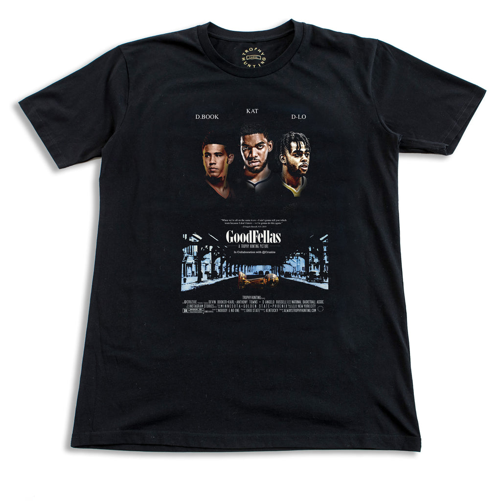 GOODFELLAS S/S T-SHIRT - BLACK