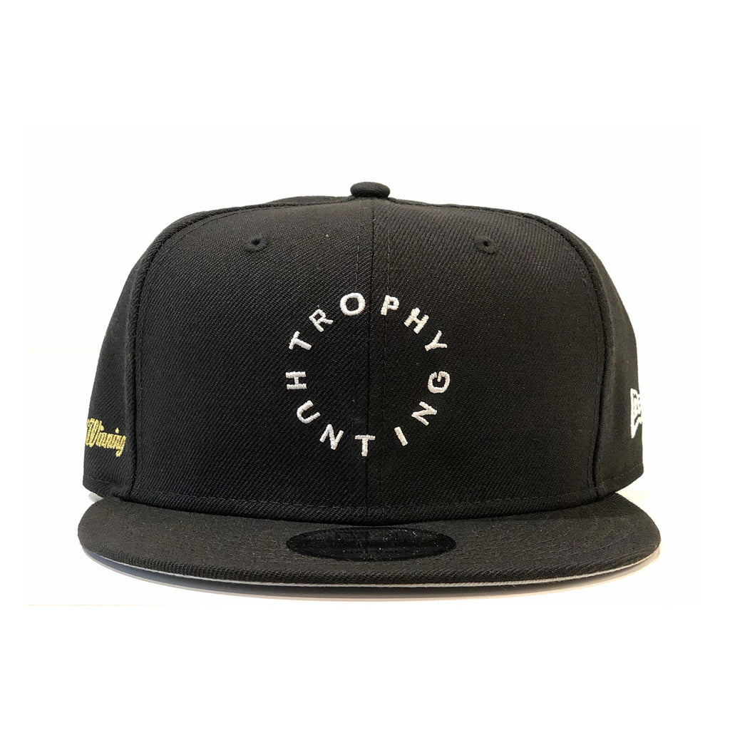 NEW ERA LOGO SNAPBACK - BLACK