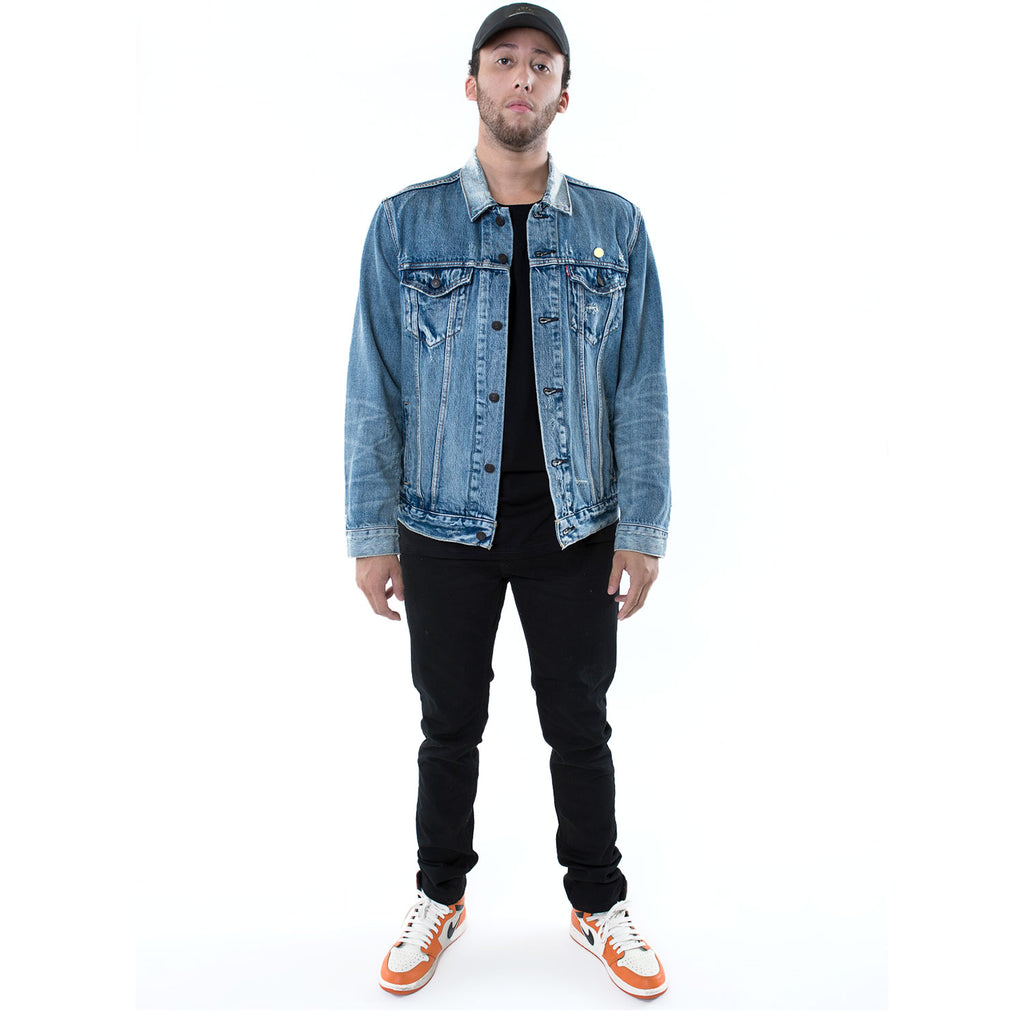 IN LOVING MEMORY of ROARACLE ARENA DENIM JACKET