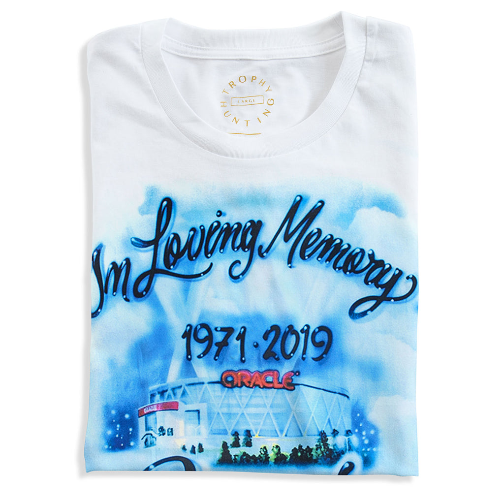 IN LOVING MEMORY of ROARACLE ARENA S/S T-SHIRT - WHITE