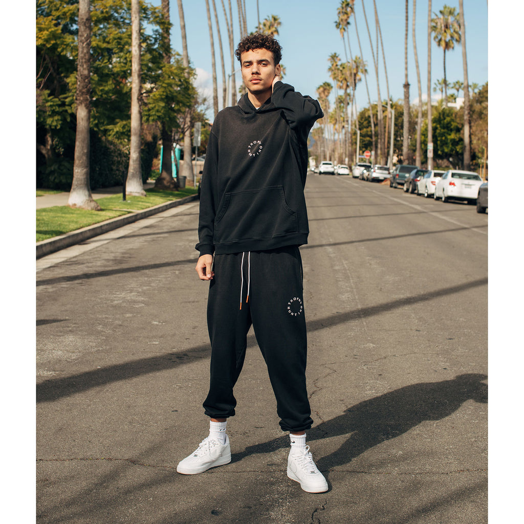 TRAVEL SWEATPANT - BLACK