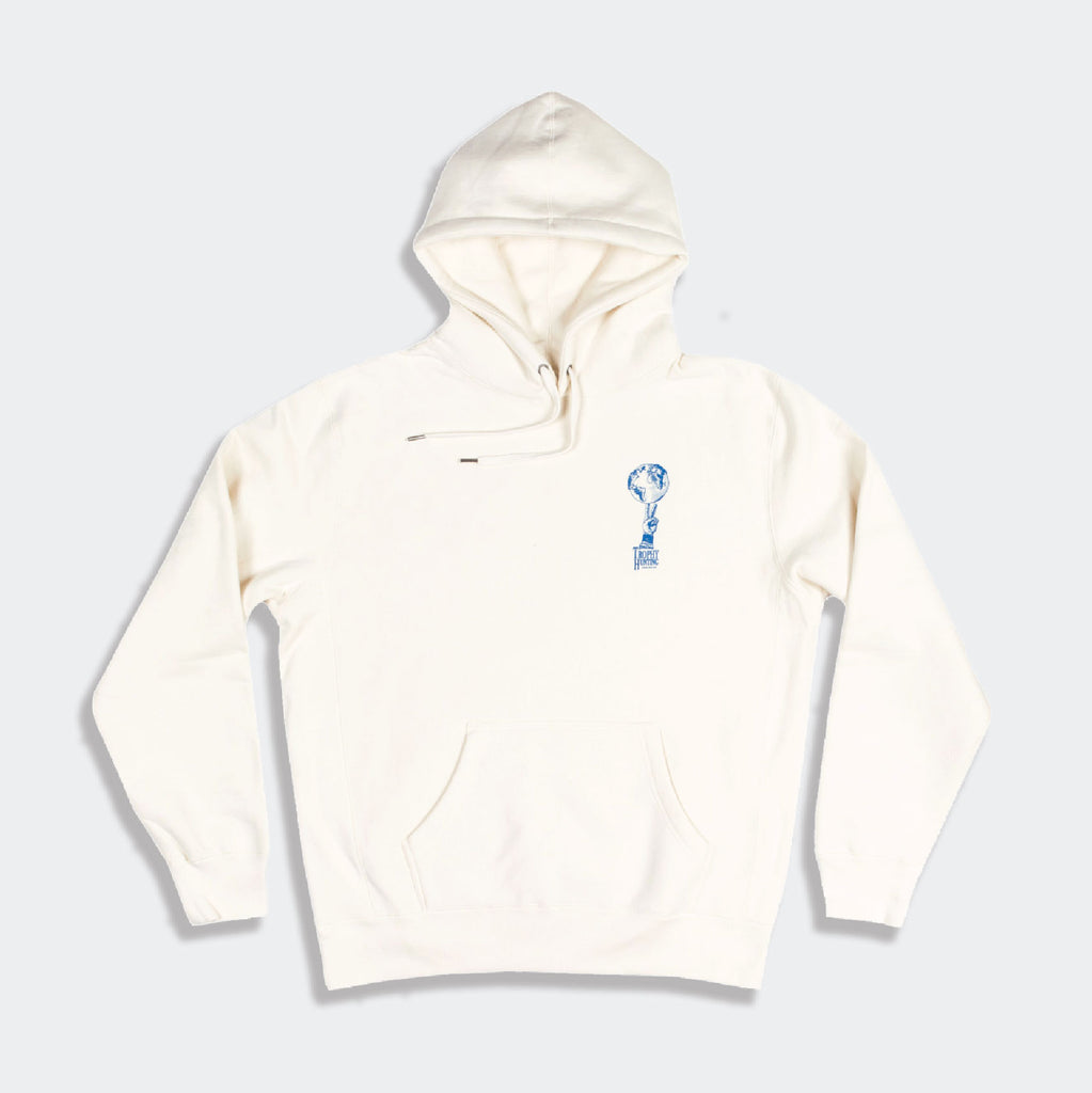 WORLD PEACE HOODIE - BONE