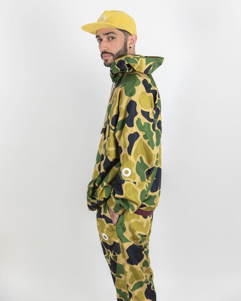 WINDBREAKER JACKET - DUCK CAMO