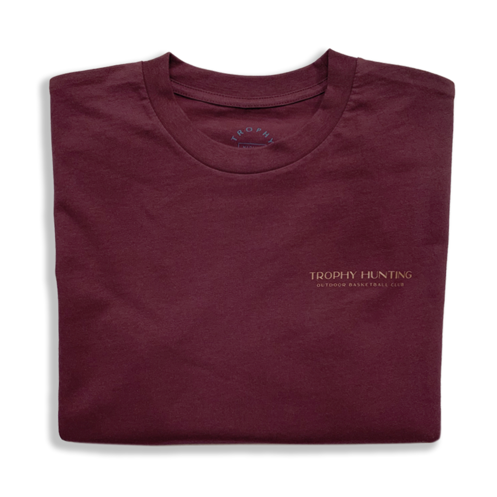 OUTDOOR CLUB TEE - MAROON