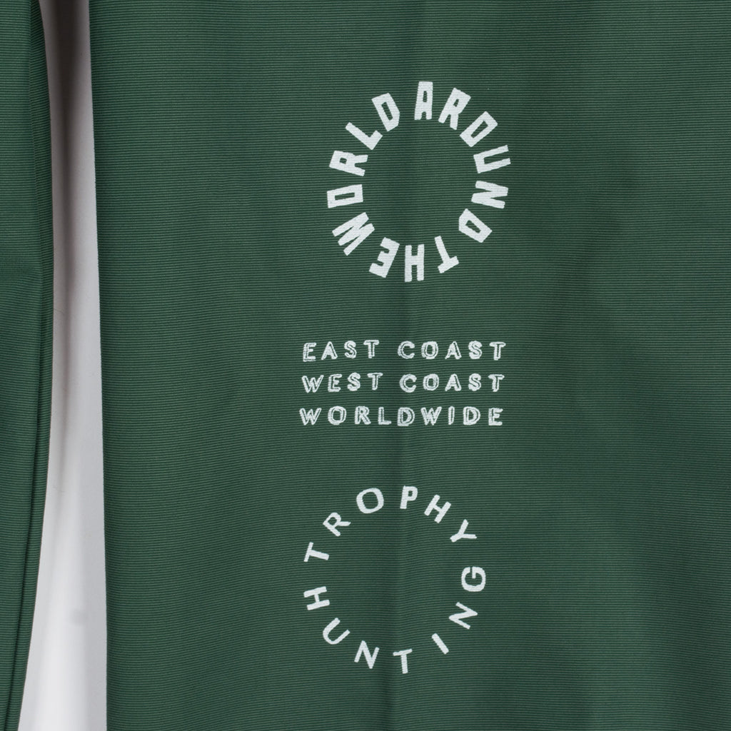 TRAVEL TEAM COACHES JACKET - FOREST GREEN