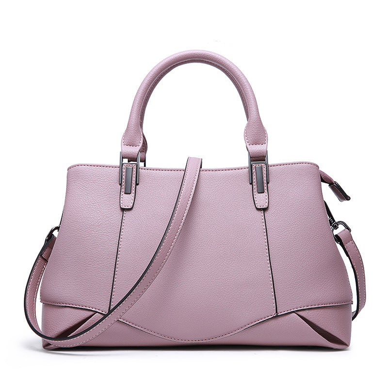 Omppu Lillie Pink Genuine Leather tote