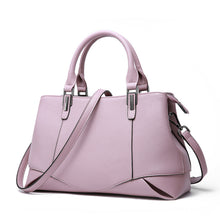 Load image into Gallery viewer, Omppu Lillie Pink Genuine Leather tote