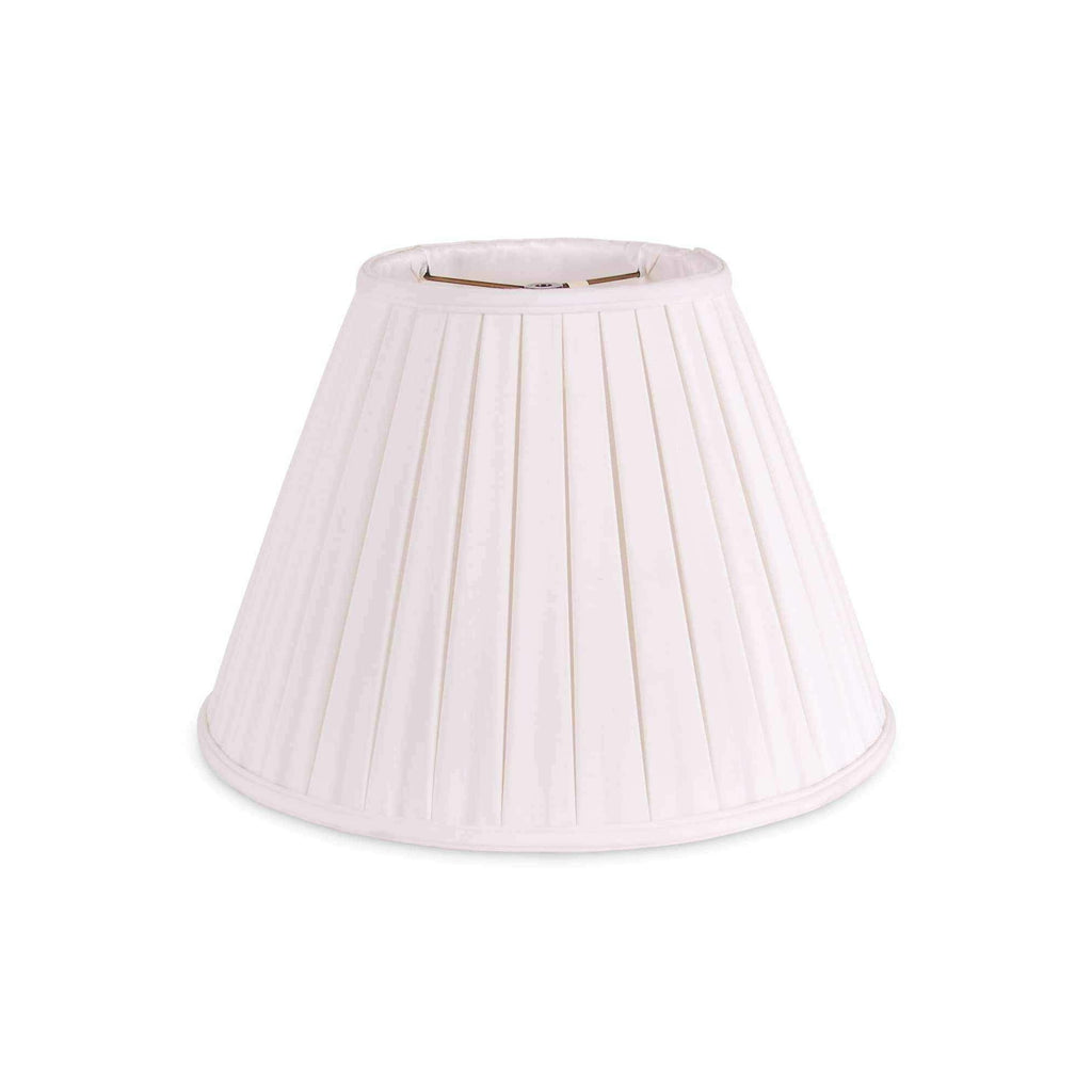 "14"" Pleated Shade - White-Room Tonic"