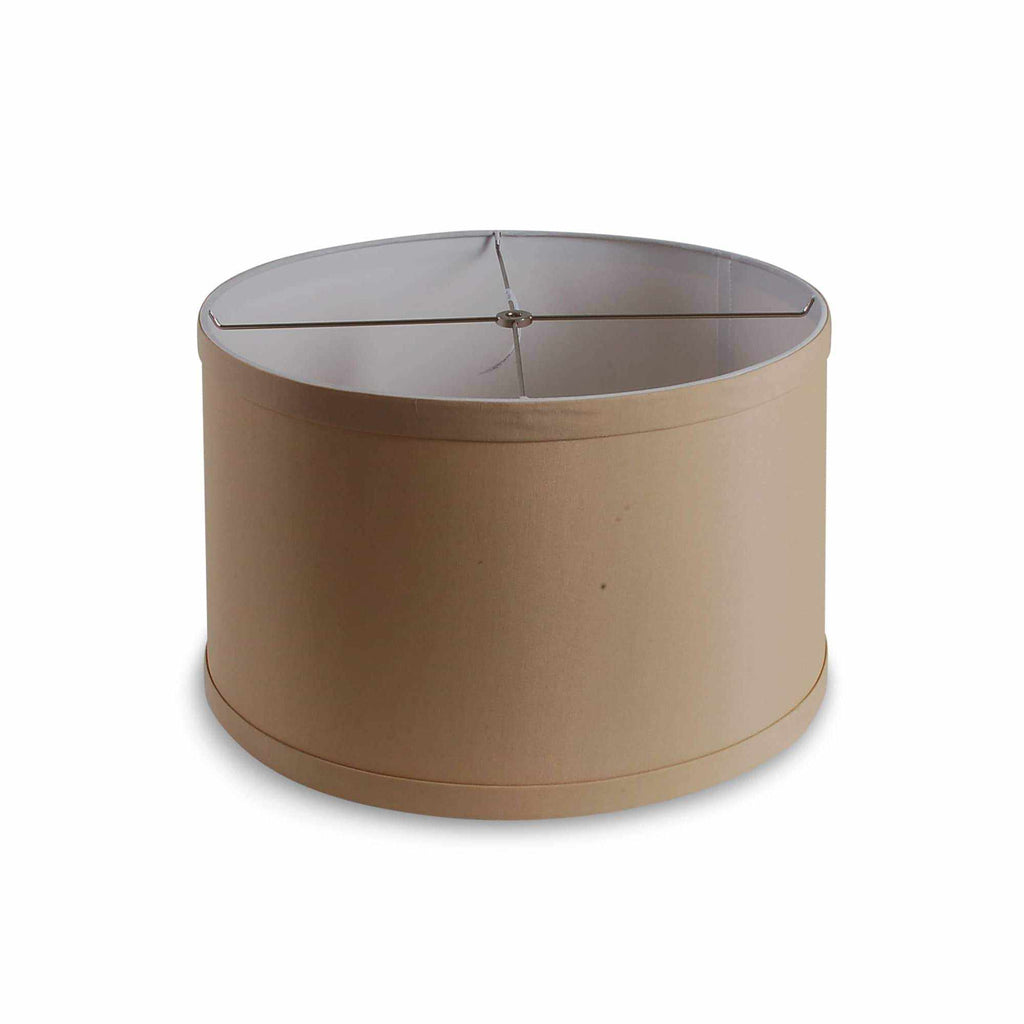 "15"" Drum Shade - Tan AVALA-7015B5"