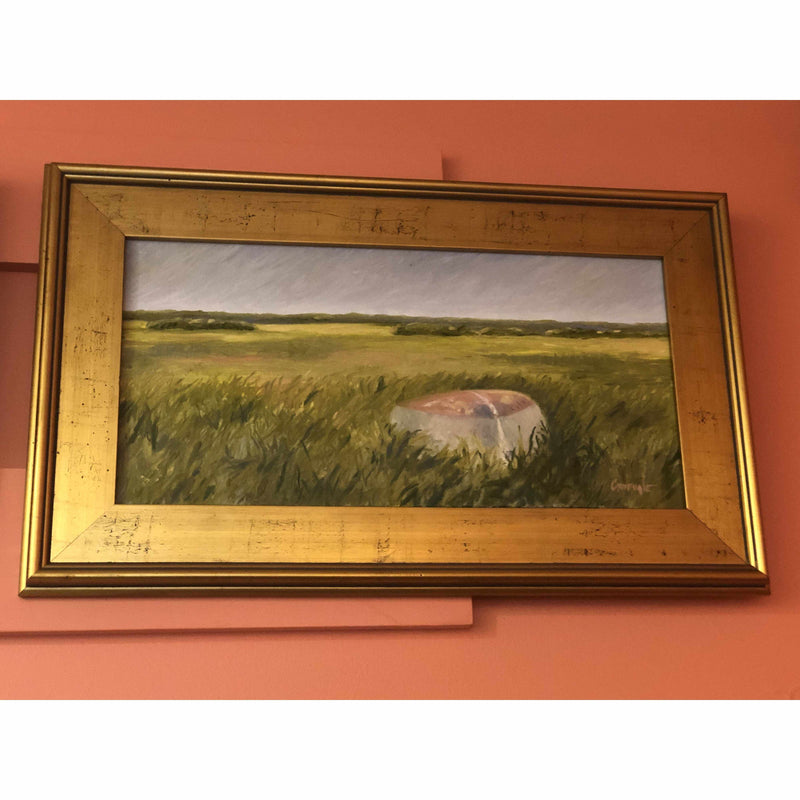 Framed Oil on Canvas by Diane Carnevale - High and Dry-Room Tonic
