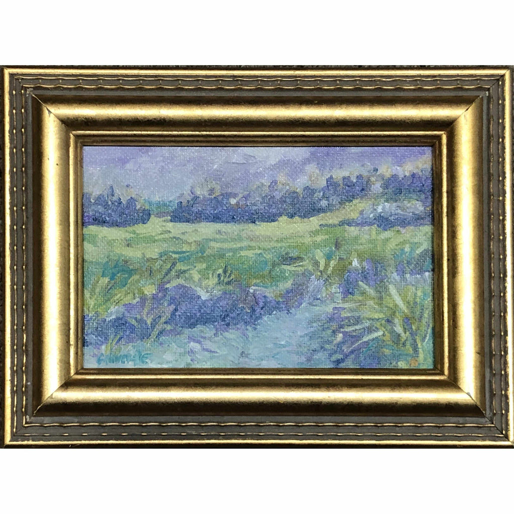 Framed Oil on Canvas by Diane Carnevale - Marsh Rhapsody-Room Tonic