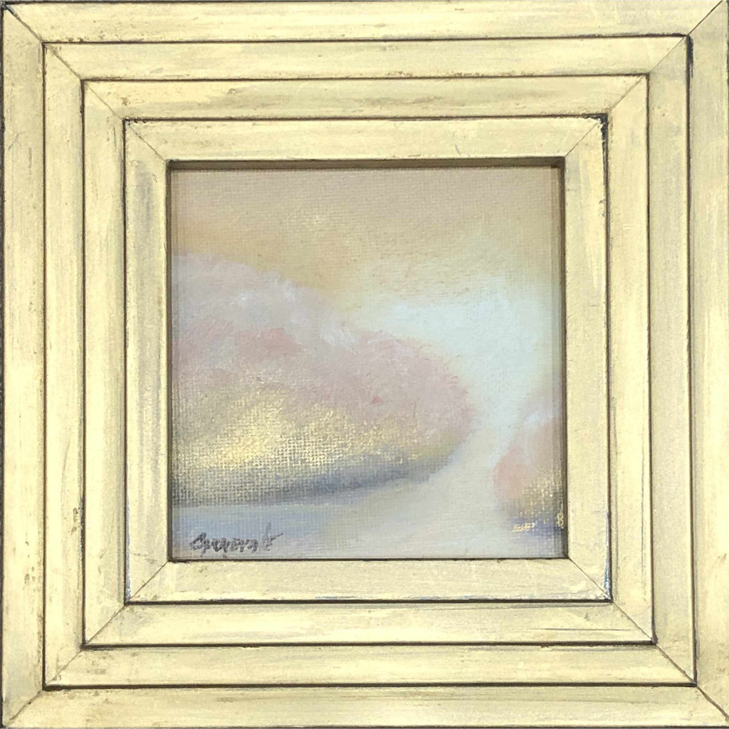 Framed Oil on Canvas by Diane Carnevale - Renaissance Gold-Room Tonic