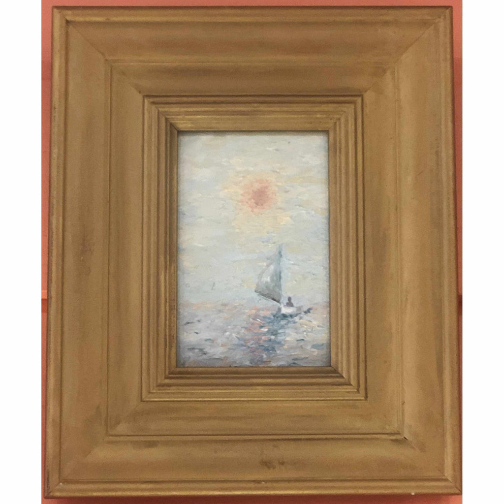Framed Oil on Canvas by Diane Carnevale - Sunset Soliloquy-Room Tonic