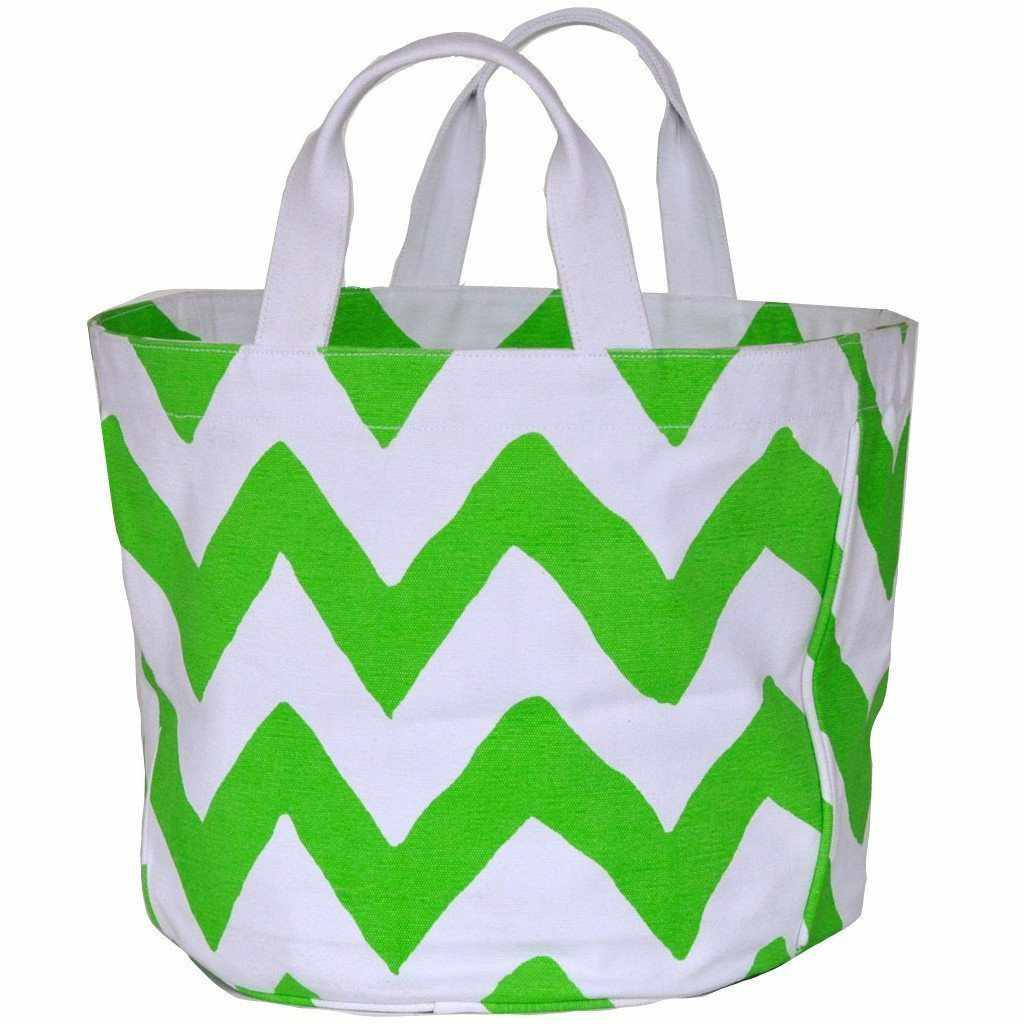 Green Bargello Tote-Room Tonic