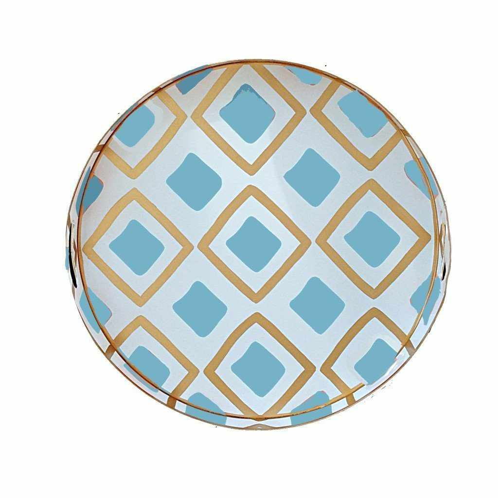 Haslam in Turquoise Tray, Small 026-HT