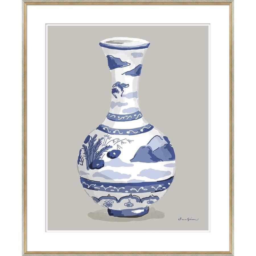 Indienne Vase in Blue-Room Tonic