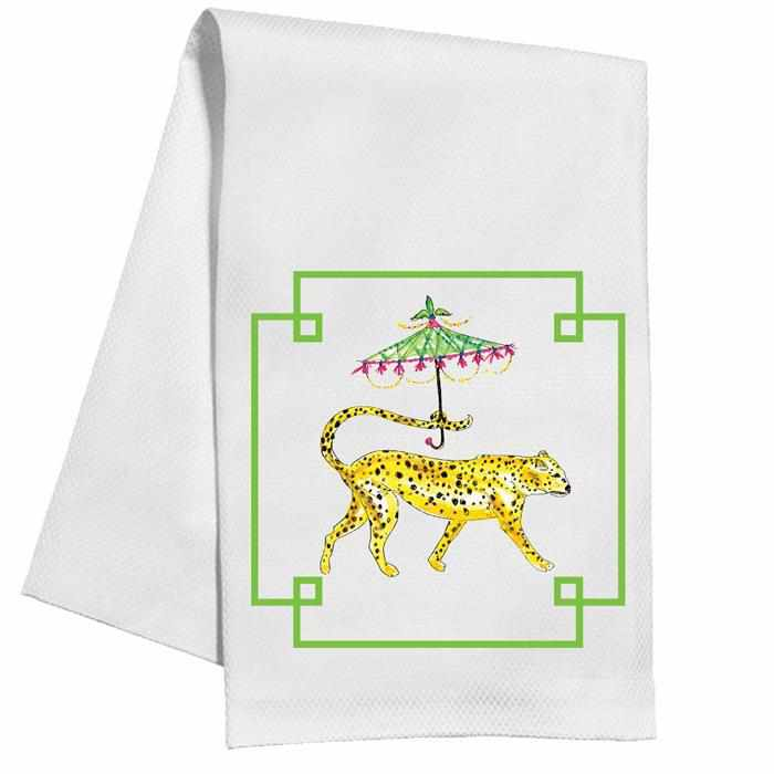 Kitchen Towel - Dressed Up Cheetah-Room Tonic