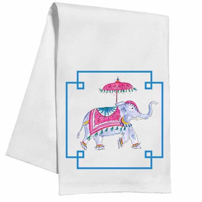 Kitchen Towel - Dressed Up Elephant-Room Tonic