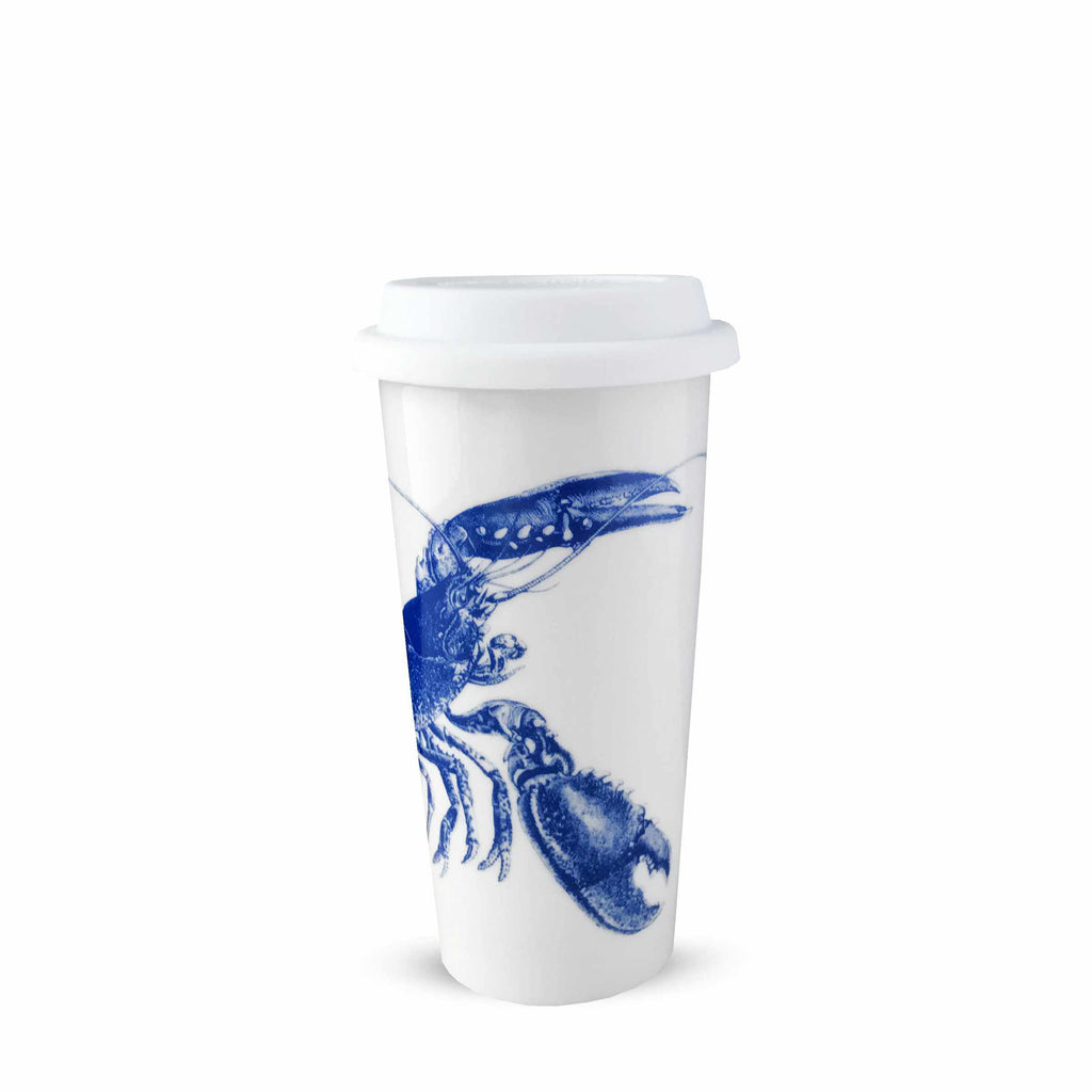 Lobster Blue Insulated Travel Mug TRMUG-817M