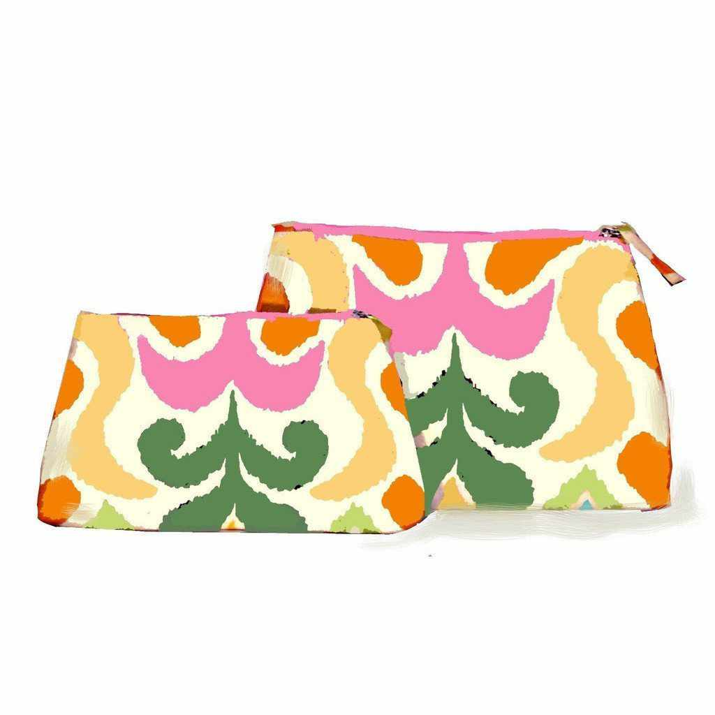 Multi Ikat Travel Bag/Large or Small-Room Tonic