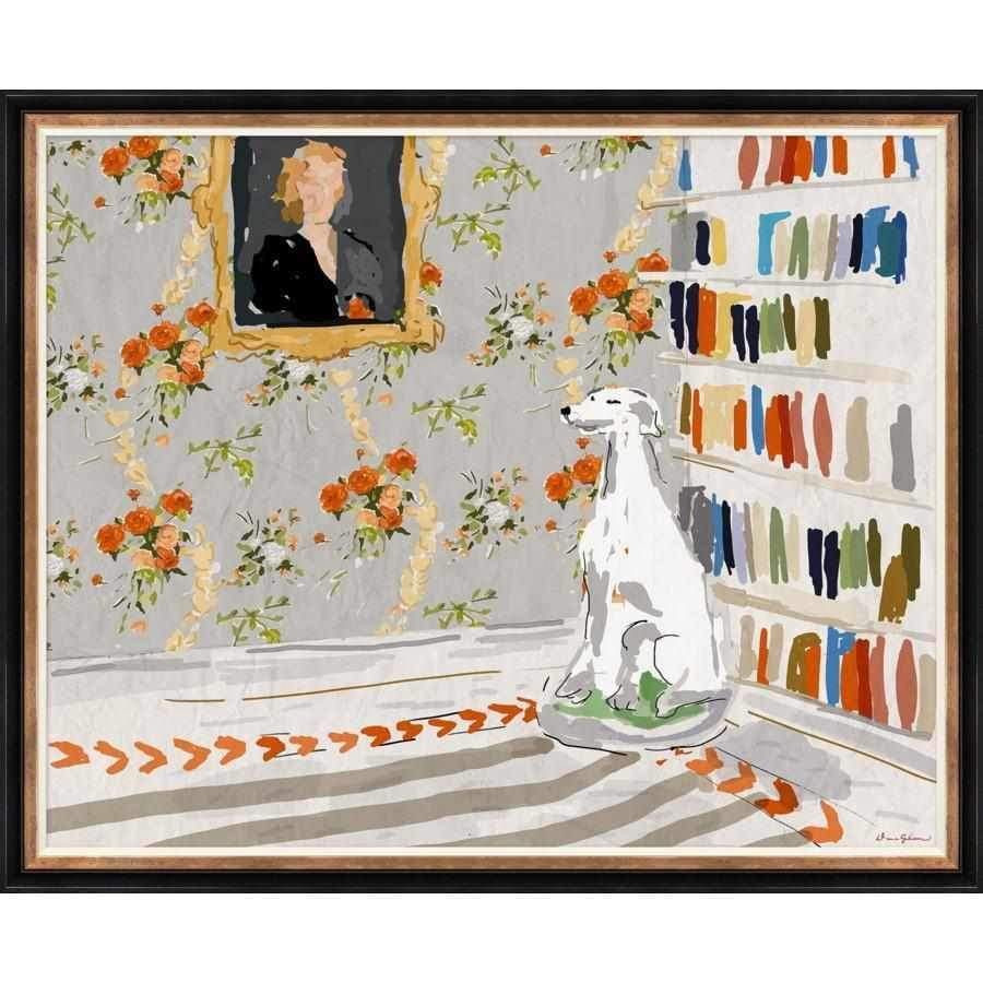Noble Dog - Large Framed Giclée Print DG-0144