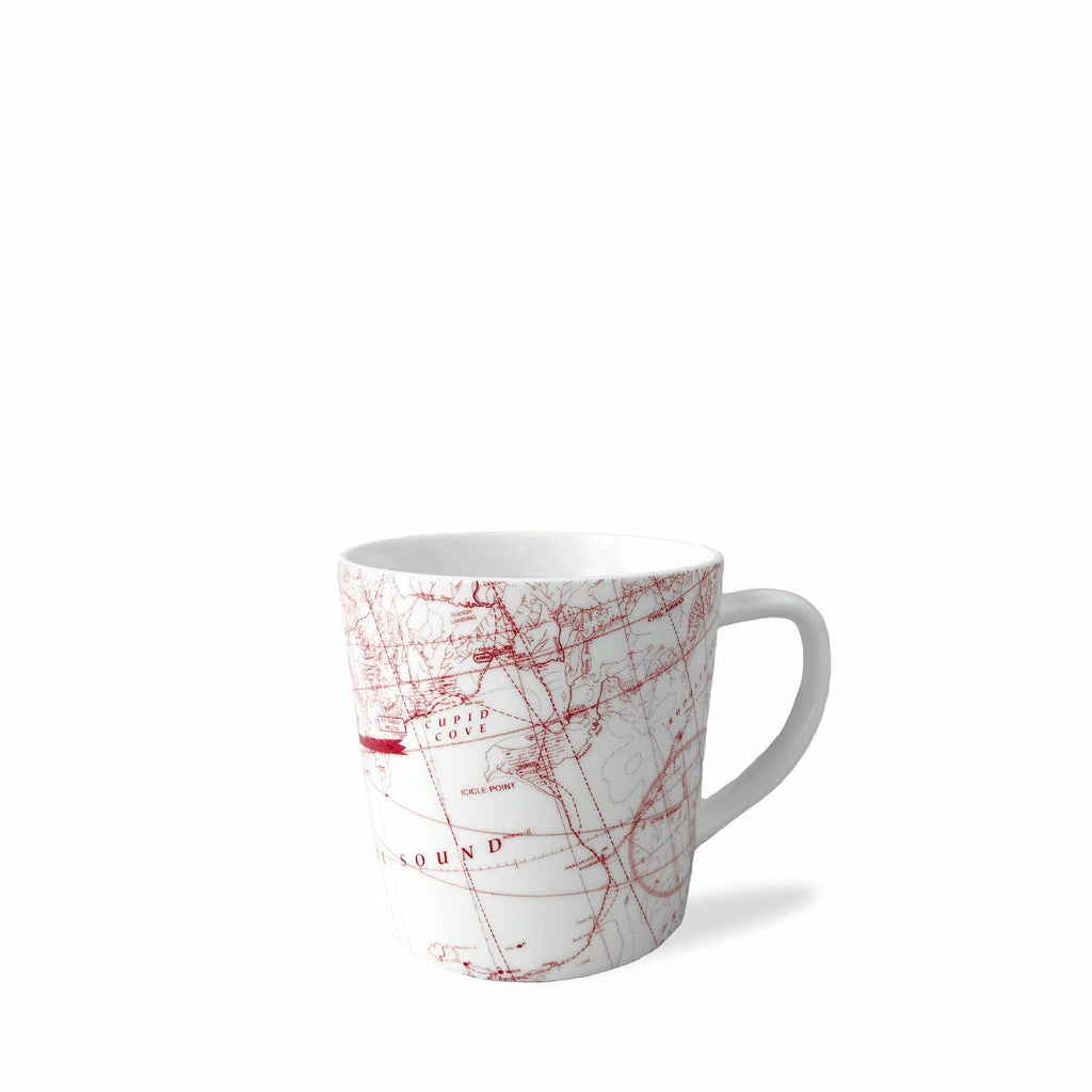 North Pole Holiday Mug with Imaginary Holiday-Themed Places