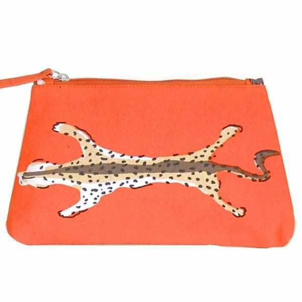 Orange Leopard Travel Bag-Room Tonic