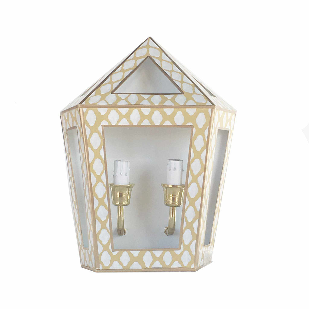 Parsi in Taupe Sconce 203-PT