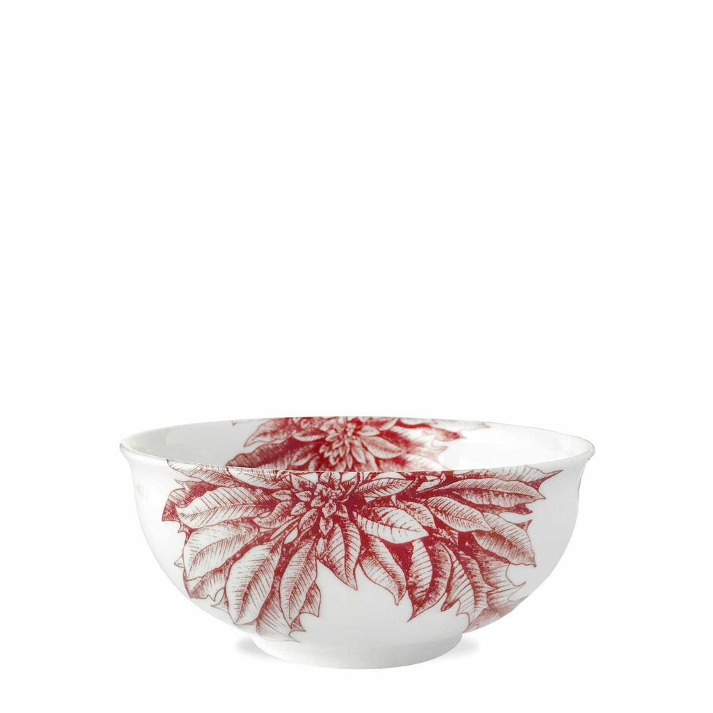 Poinsettia Cereal Bowl-Room Tonic