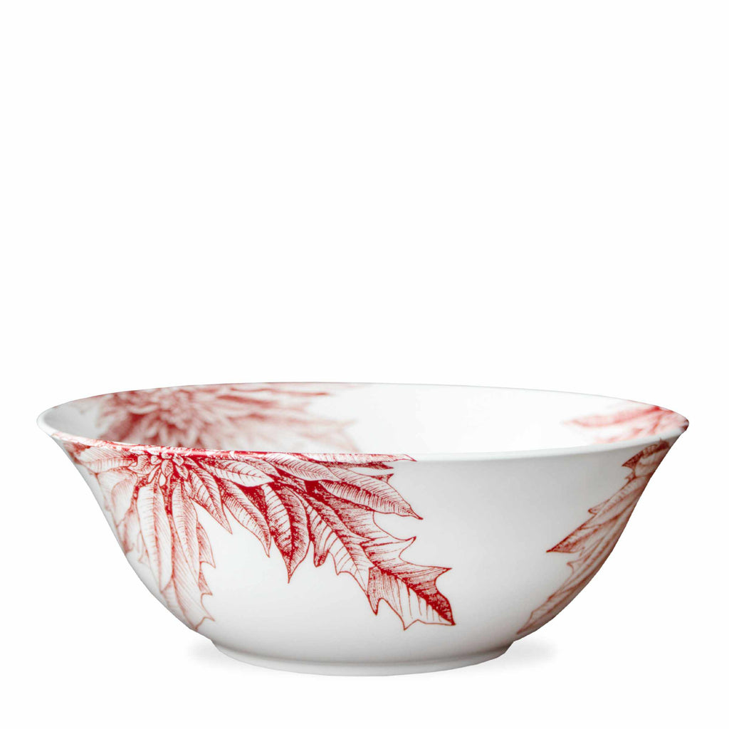 Poinsettia Serving Bowl**-Room Tonic