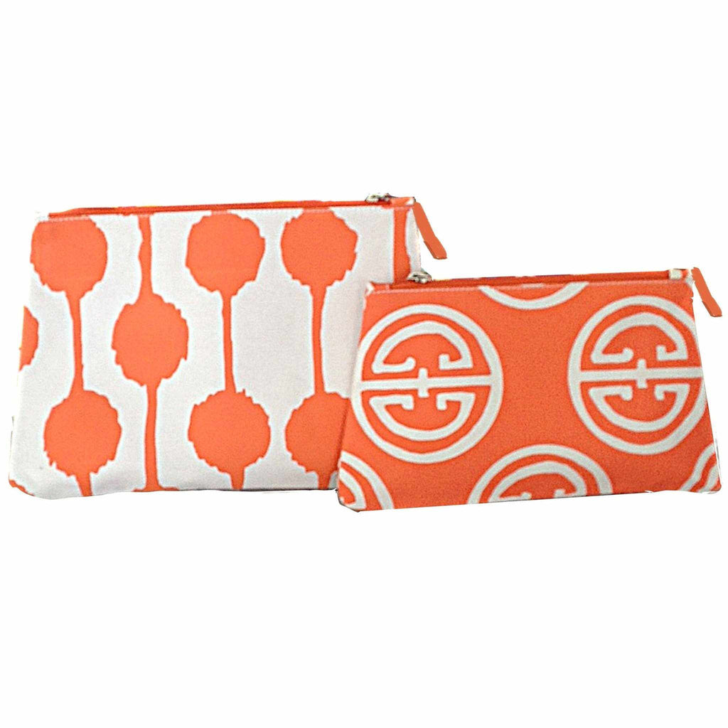 Pom Pom Travel Bag in Large and Orange Pavilion-Room Tonic