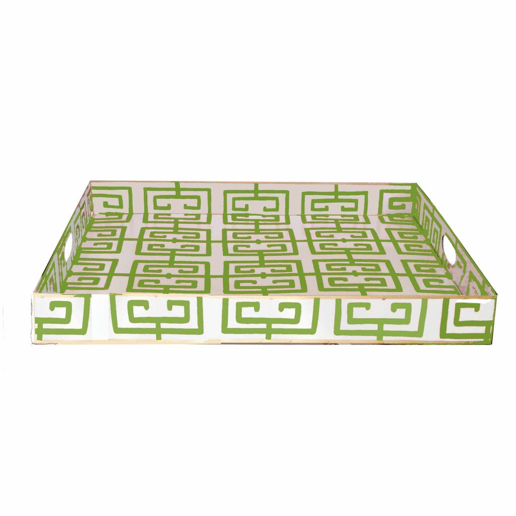 Rectangle Serving Tray in Green Fret 114-GF