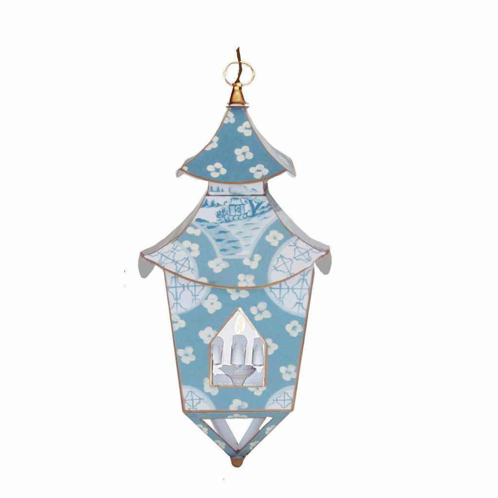 Swedish Blue in Canton Lantern #060-SB