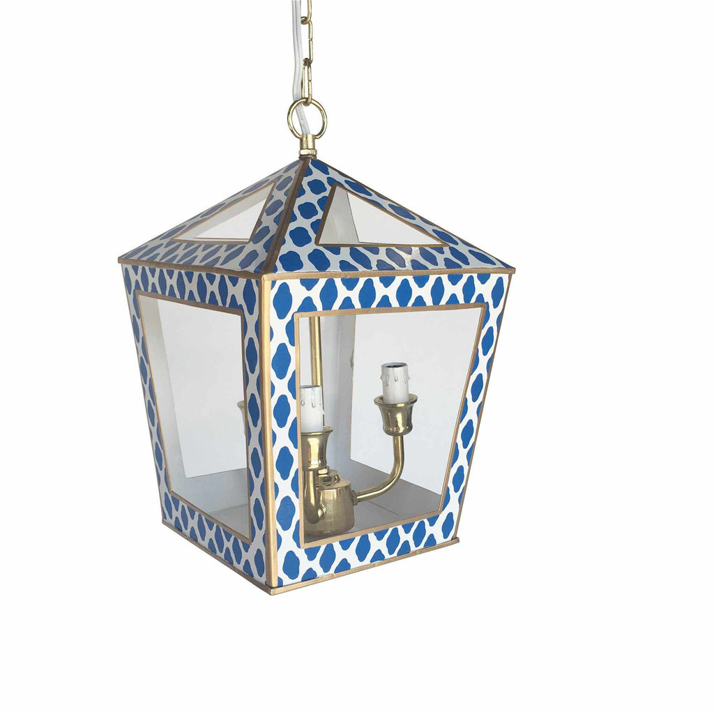 Tucker Lantern in Navy Parsi 201-PN