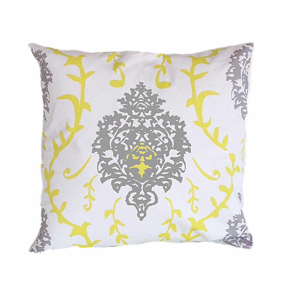 "Yellow Venetto 22"" Pillow-Room Tonic"
