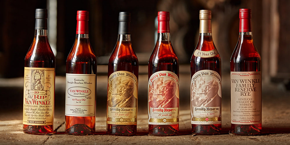 Liquor Showcase: Pappy Van Winkle 12 Year Bourbon Whiskey