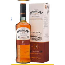 Bowmore 15 YEARS OLD 'DARKEST'