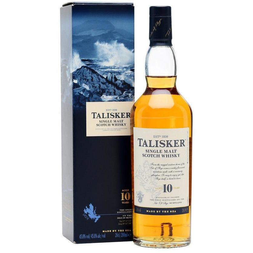 10 Year Talisker Single Malt Scotch 750 ML