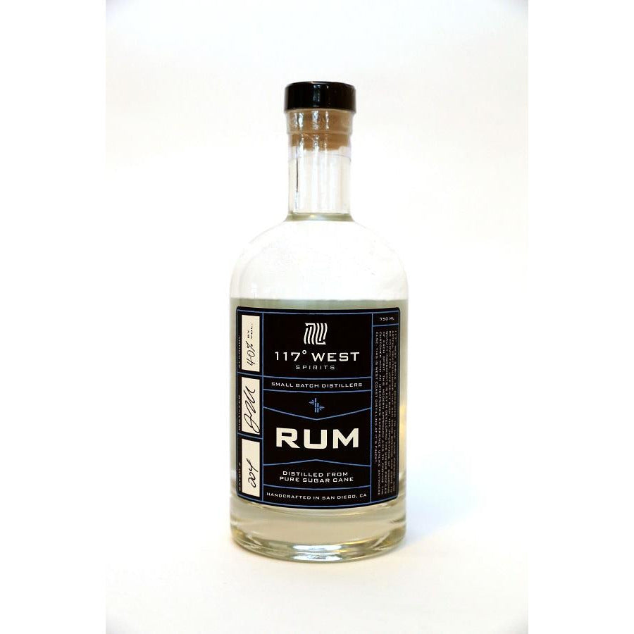 117 West Small Batch Rum 750 mL