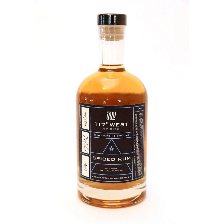 117 West Small Batch Spiced Rum 750 ML