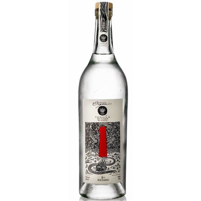 123 Organic Blanco Tequila 750 mL