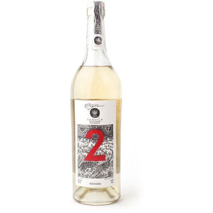123 Organic Reposado Tequila 750 mL