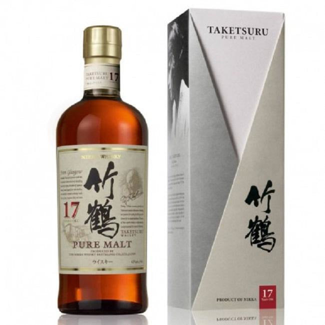 17 Year Taketsuru Pure Malt Nikka Japanese Whisky 750 ML