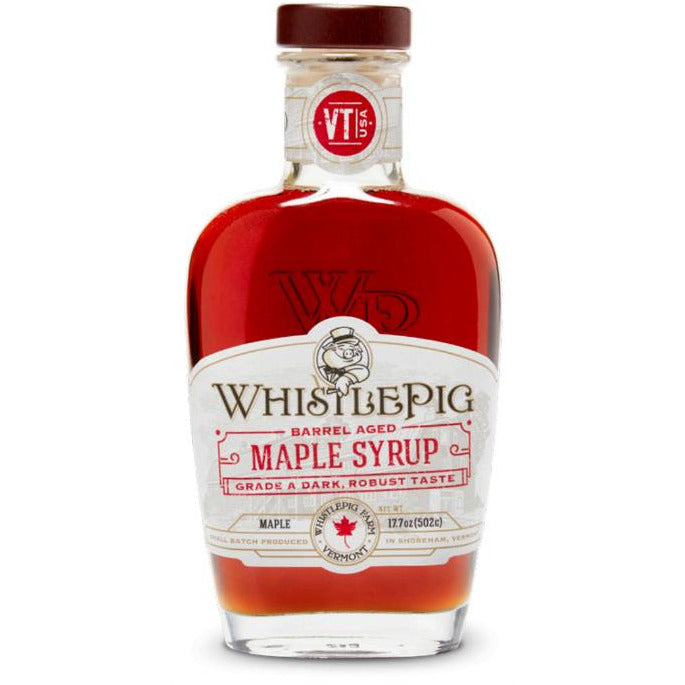 Whistle Pig Barrel Aged Maple Syrup (17.7 Oz)