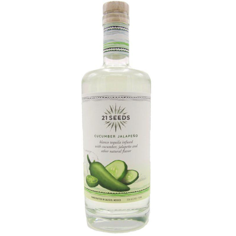 21 Seeds Cucumber Jalapeno Tequila 750 mL