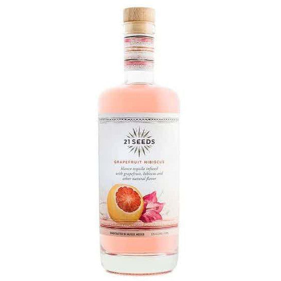 21 Seeds Grapefruit Hibiscus Tequila 750 mL