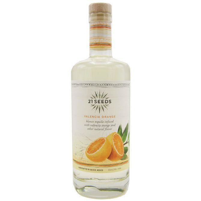 21 Seeds Valencia Orange Tequila 750 mL