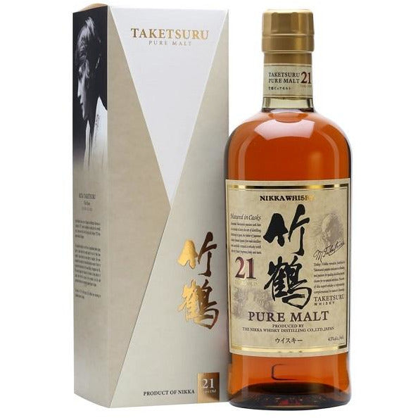 21 Year Taketsuru Pure Malt Nikka Japanese Whisky 750 ML
