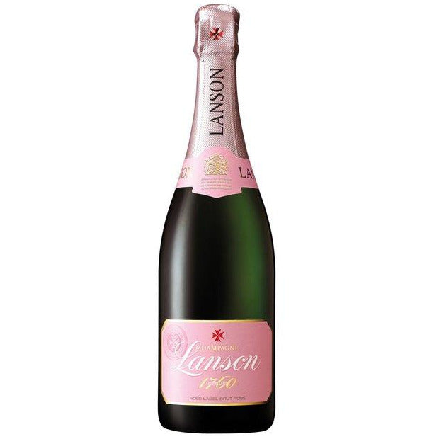 Lanson Champagne Rose Label Brut Rose (750 mL)